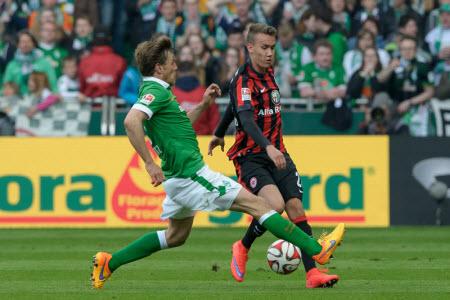 Werder Vs Frankfurt