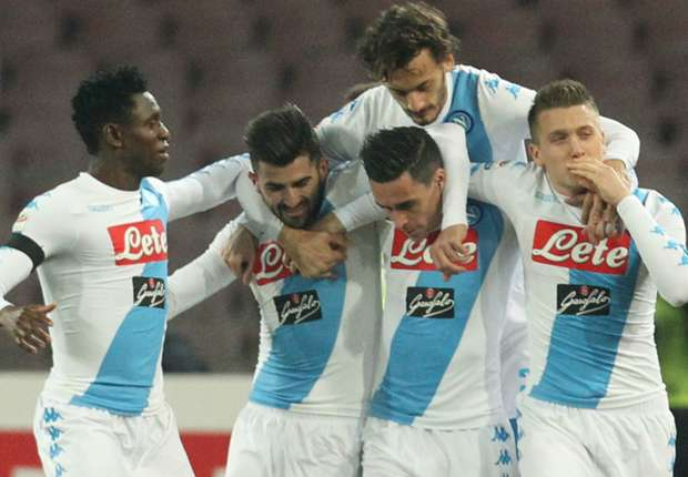 Napoli Vs Spezia 11 Januari 2017